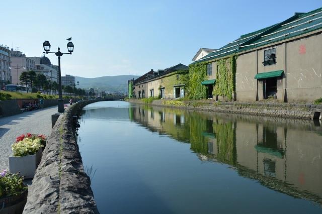 小樽運河(写真:小樽市提供)