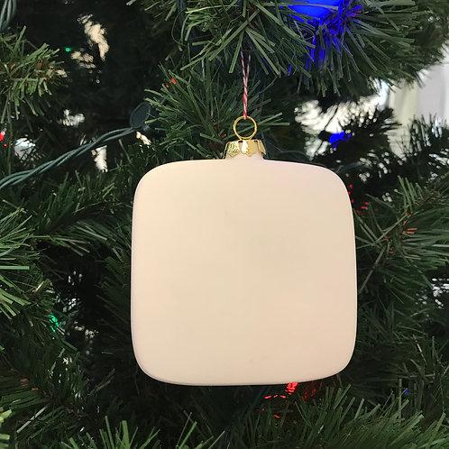 Square Flat Ornament