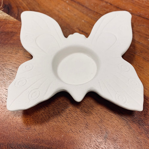 "4.5"" L Butterfly Tea Light Holder"