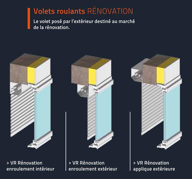 Diaz menuiseries certifié RGE installe les volets roulants en rénovation. Demandez votre devis pour une estimation de votre projet de changement de volets.