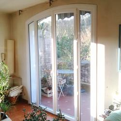 Porte fenêtre arc surbaissé Gémenos