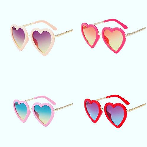 Girls Heart Sun Glasses