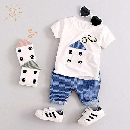 Baby Boy Summer Set