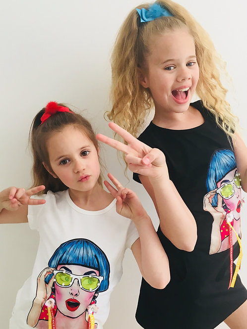 Girls Funky Dress Top