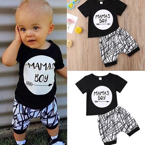 Mamas Boy Shorts & Top Set