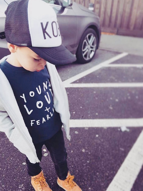 Young Loud & Fearless Unisex T-Shirt
