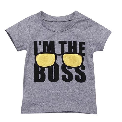 Boys I'm The Boss T-Shirt