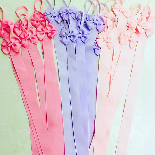 Girls Bow  Holder Ribbon