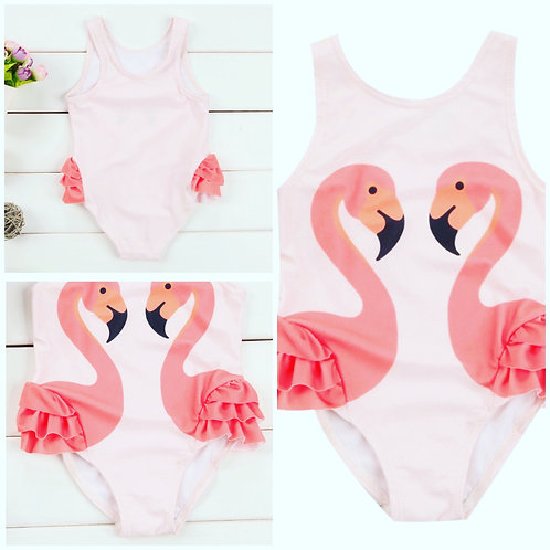 Flamingo Swimming Costume