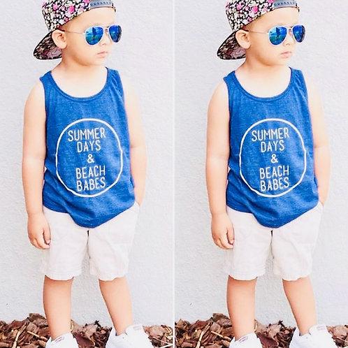 Boys Summer Days Shorts and T-Shirt Set
