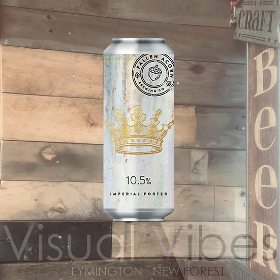 Fallen Acorn 'As The Sea Breeze Hits My Lungs' 440ml Can 10.5%
