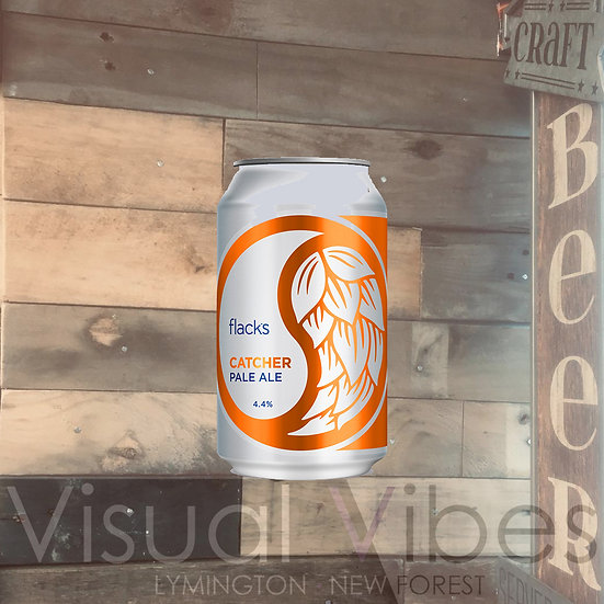 Flack Manor Catcher Pale Ale 330ml Can 4.4%