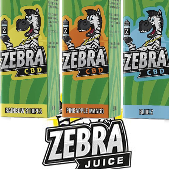 Zebra CBD Juice - 30ml 1000mg