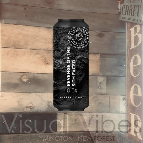 Fallen Acorn 'Revenge of the Sith Faced' 440ml Can 10.5%