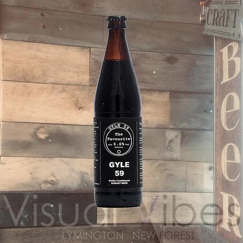 Gyle 59 'The Favourite' 500ml Bottle 6.6%