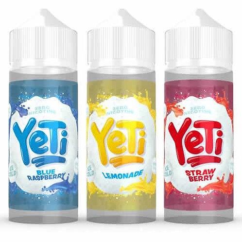 Yeti E-Liquid 100ml Shortfill