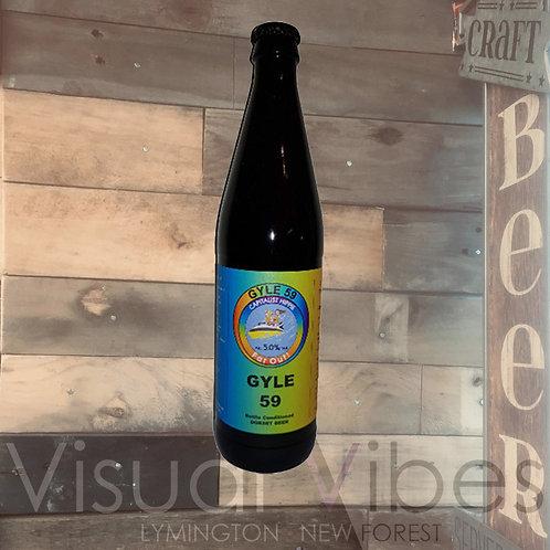 Gyle 59 'Capitalist Hippie - Far Out' 500ml Bottle 5.0%