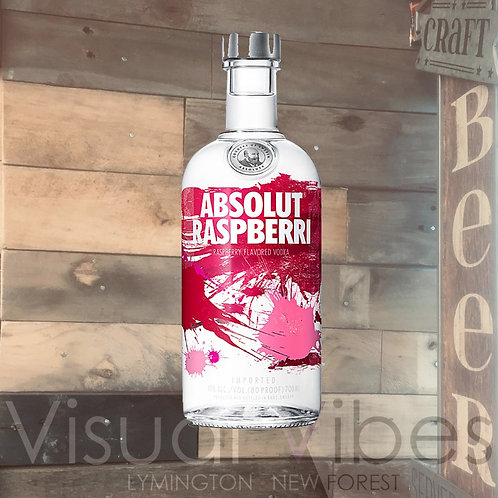 Absolut Raspberry Vodka 70cl 40%