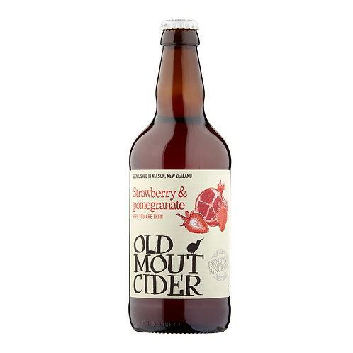 Old Mout Strawberry & Pomegranate Cider 500ml 4.0%