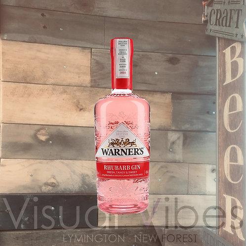 Warner's Rhubarb Gin 70cl 40%