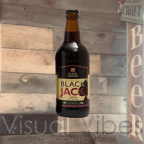 Flack Manor Black Jack Porter 500ml bottle 4.6%