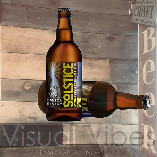 Downton Brewery 'Solstice' 500ml bottle 4.6%