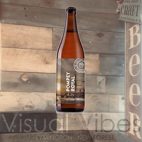 Fallen Acorn 'Pompey Royal' 500ml Bottle 4.3%