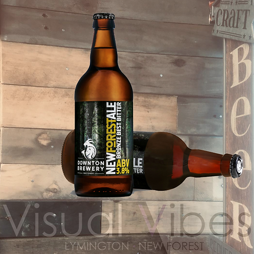 Downton Brewery 'New Forest Ale' 500ml bottle 3.8%