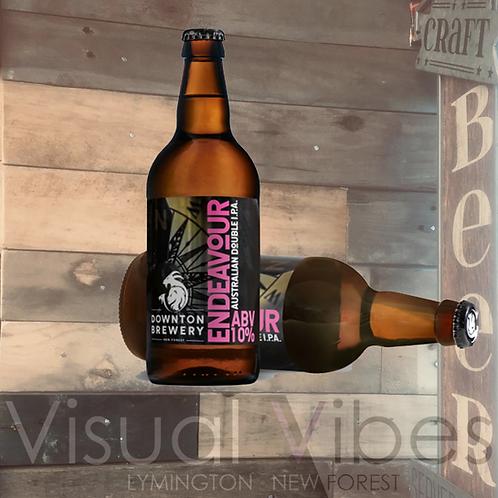 Downton Brewery 'Endeavour' 500ml bottle 10.0%