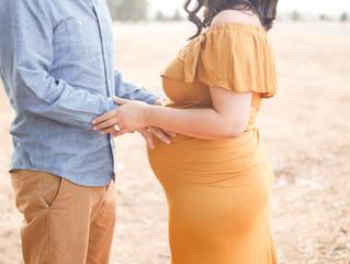 Lupe+Pedro {Maternity}