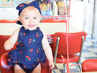 Colbie's 10 Month Shoot