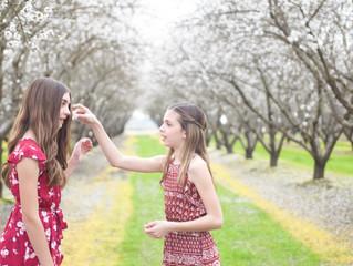 Mikayla & Malia {Almond Blossoms}