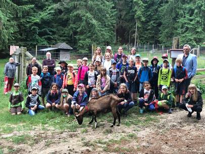Besuch im Naturpark Nordwald