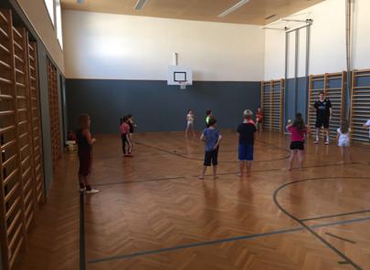 Unverbindliche Übung BSP 2. Klasse (Basketball)