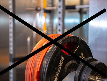 OBS! Gymmet stängt 1-14.4.2021