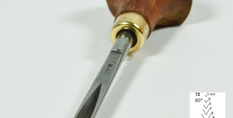 MINIJÄRN V-Form Rak 1 eller 4 mm