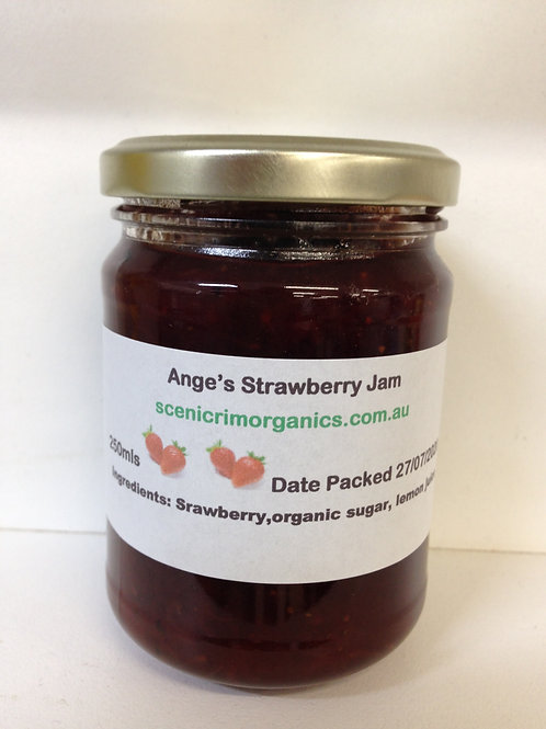 Ange's Strawberry Jam