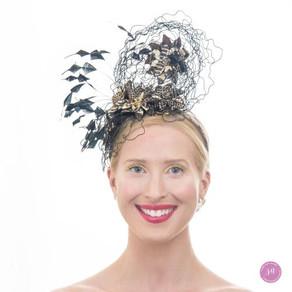 Birdsnest headpiece