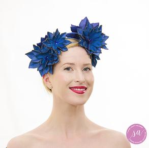 Blue-Belle headpiece