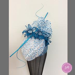 BLUE LACE hat