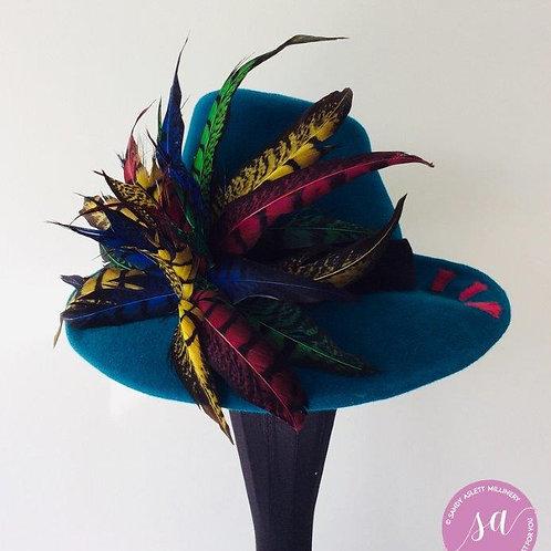 Gansta felt hat