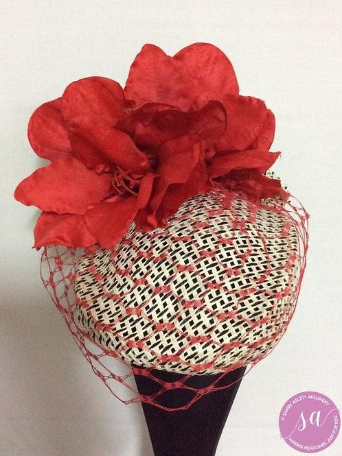 Strawberry Fields pillbox hat