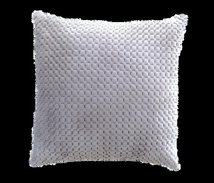 Grey Plush Cushion