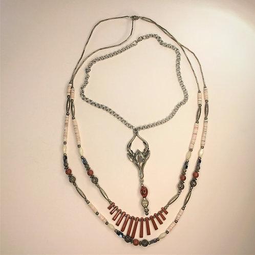 Antelope Necklace Set