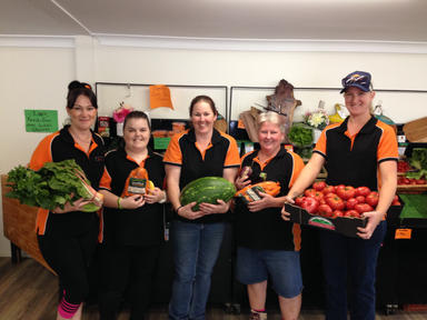 Scenic Rim Fruit & Veg Staff