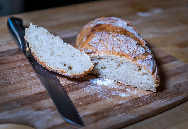 Old Church B&B Sourdough Bread