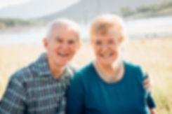 Geoff and Beryl Hopson