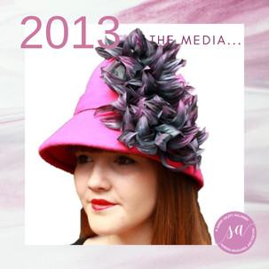 Sandy Aslett Milliner media 2013