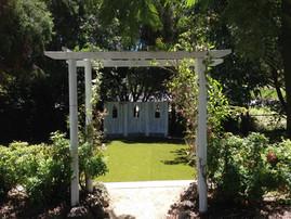 Wedding Arch & Lawn
