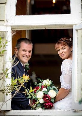 Wedding couple Old Church B & B Wedding Venue